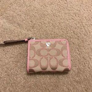 Poppy coach wallet
